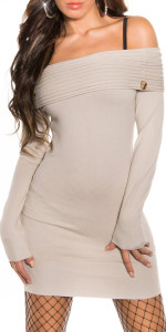 ooKouCla_fineknit_BOHOminidress_with_carmenneck__Color_BEIGE_Size_Onesize_0000IN-083_BEIGE_1 - Copia - Copia - Copia