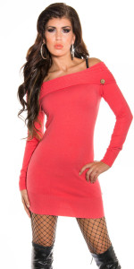 ooKouCla_fineknit_BOHOminidress_with_carmenneck__Color_CORAL_Size_Onesize_0000IN-083_CORAL_20 - Copia - Copia