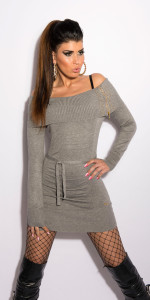 ooKouCla_knit-dress_with_rhinestones_and_zip__Color_GREY_Size_Onesize_0000ISF8080_GRAU_44