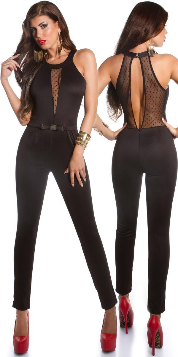 Tuta Pantalone Jumpsuit Overall FridaAbito Schiena Donna Con wPTOkuiXZl