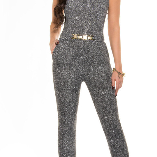 ooKouCla_Jumpsuit_with_gold_buckle__Color_BLACKWHITE_Size_XL_0000OV67212_SCHWARZWEISS_6