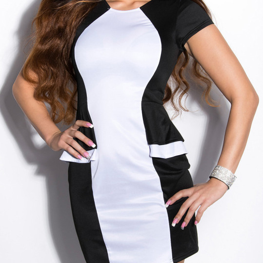 ooKouCla_minidress_bi-colored_with_peplum__Color_BLACKWHITE_Size_L_0000IN50230_SCHWARZWEISS_22_1
