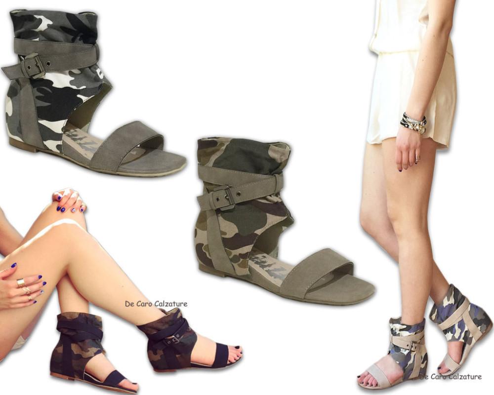 interiores de Zapatillas mujer altas sandalias Zapatos Con superiores y bajas de cuña j54ARL