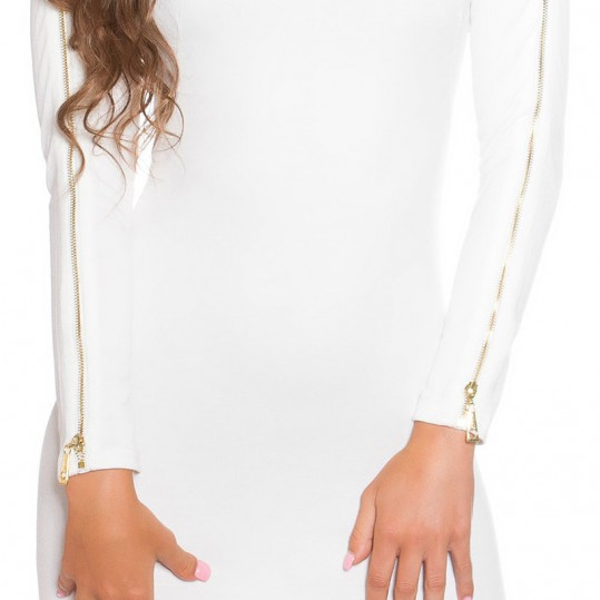 ooKoucla_dress_with_zip__Color_WHITE_Size_14_0000K18553_WEISS_53