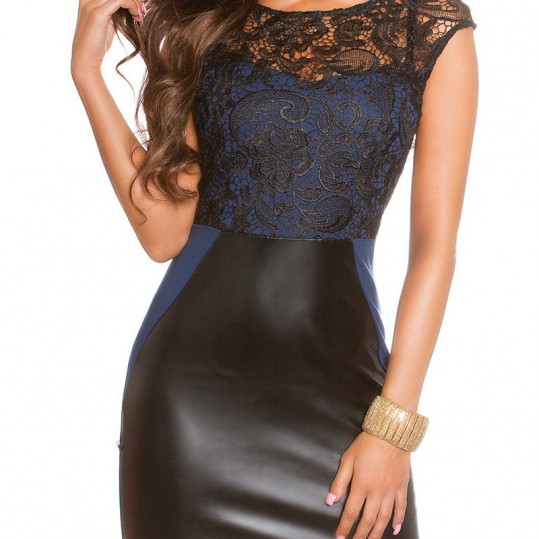 ooKoucla_dress_with_lace_and_leatherlook__Color_NAVY_Size_14_0000K18522_MARINE_1