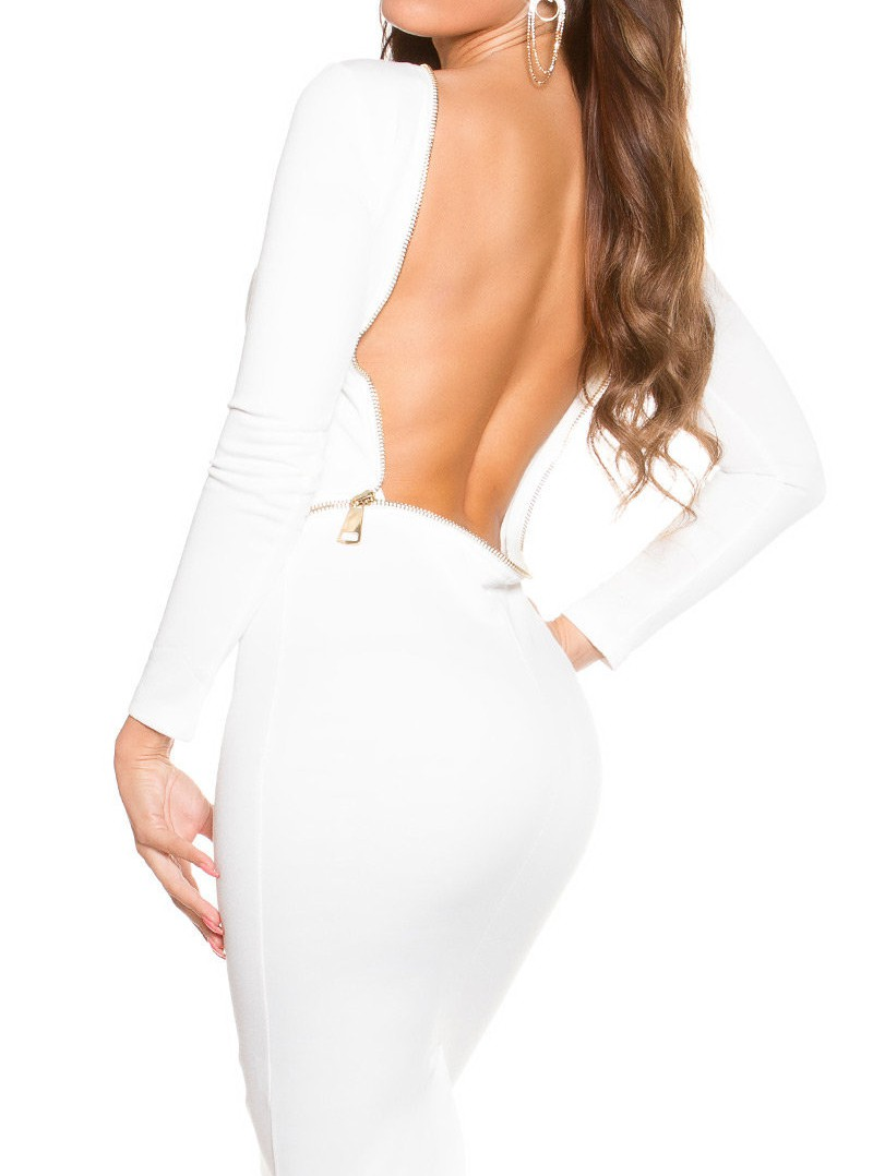 oolong-sleeve_dress_backless__Color_CREAM_Size_L_0000K18827_CREME_1