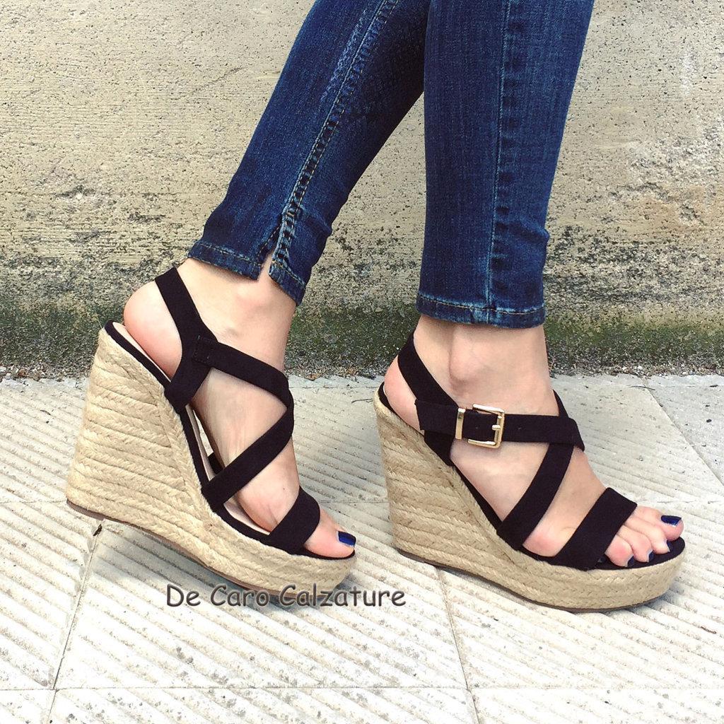 scarpe decollete tacco 5