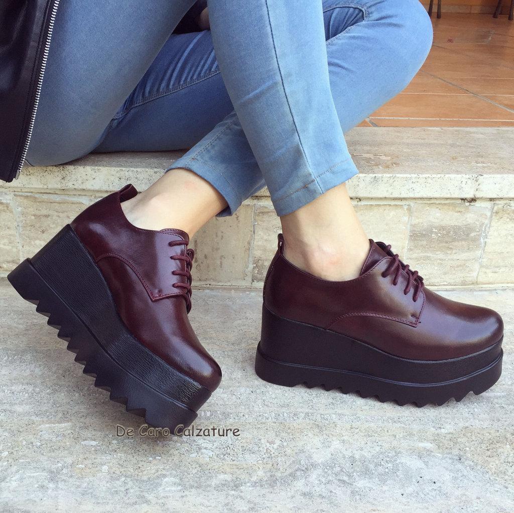 Sneakers Eco Scarpe Donna Con Stivalistivaletti Zeppa Stilizzate 5SSHRnwq