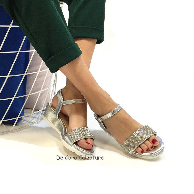 Da E Zeppa Tacco Scarpe Mare Sandalo Medio Diamante Sandali Wd9ihe2 QoeBrCxdW