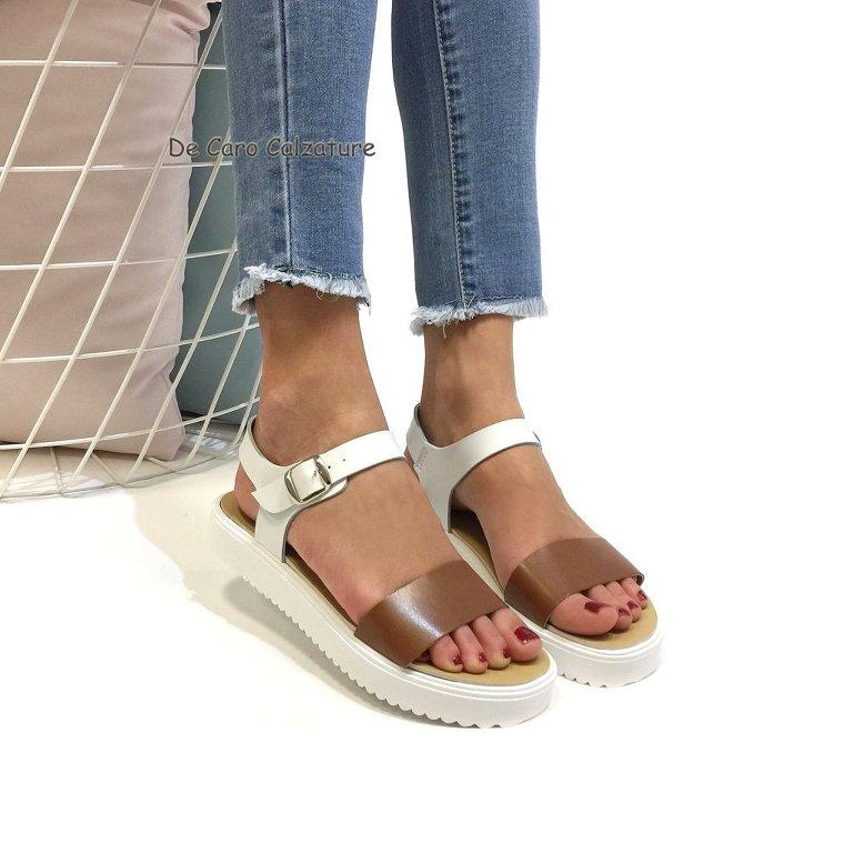 Sandali Artigianali F60 Eco Fasce Scarpe Pelle Con Bassi nwP0kO