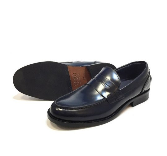 Mocassini uomo College scarpe slip on eleganti K22