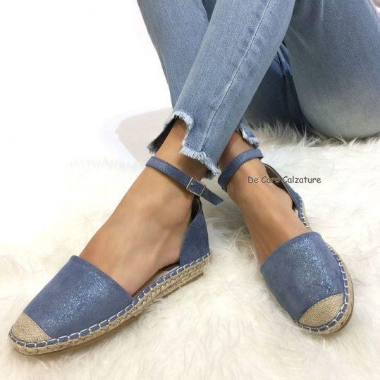 rivenditore di vendita 9b758 b55fc Espadrillas Lizzie con cinturino alla caviglia sandali L85