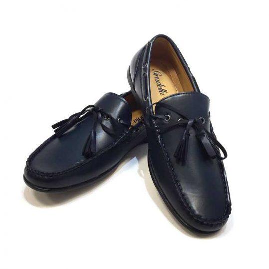 uk availability 7727d b8447 Mocassini uomo Carles scarpe eleganti senza lacci N45