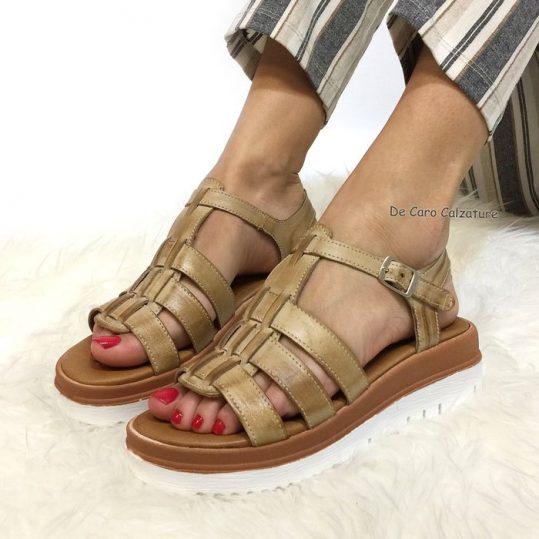 Sandali fasciati con cinturino regolabile c8457aa2c7a