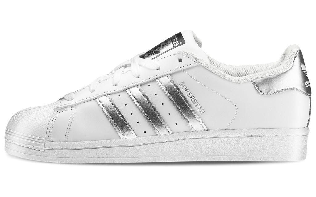 adidas donna scarpe bianche e argento