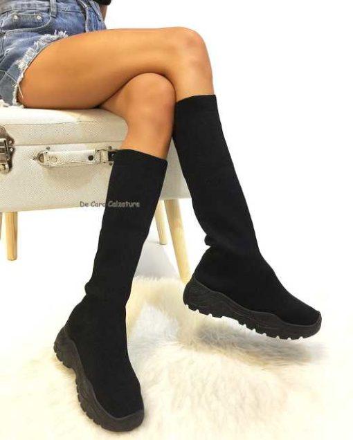 Stivali Nantes sock sneakers calzino in tessuto tech AB1