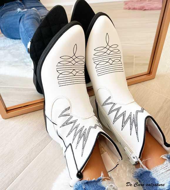 Stivali texani Apice camperos bassi alla caviglia con ...